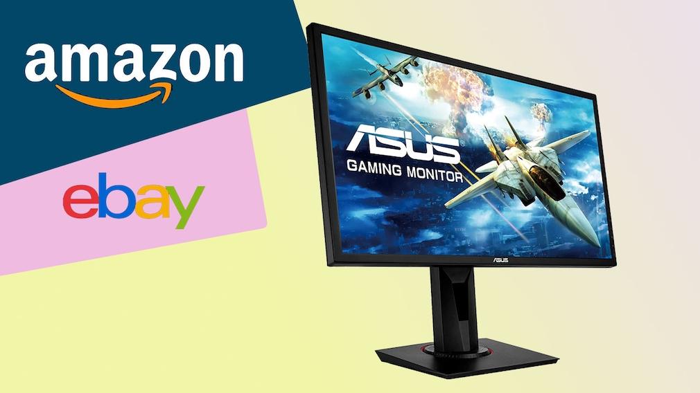 Amazon und Ebay: Asus-Monitor