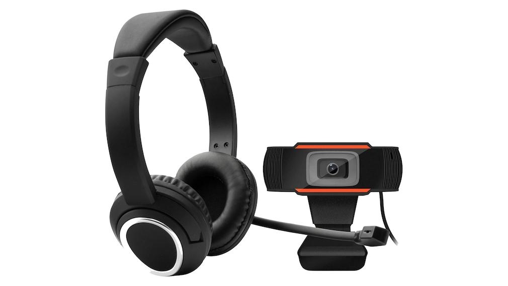 Webcam und Headset: Home-Office-Set bei Otto