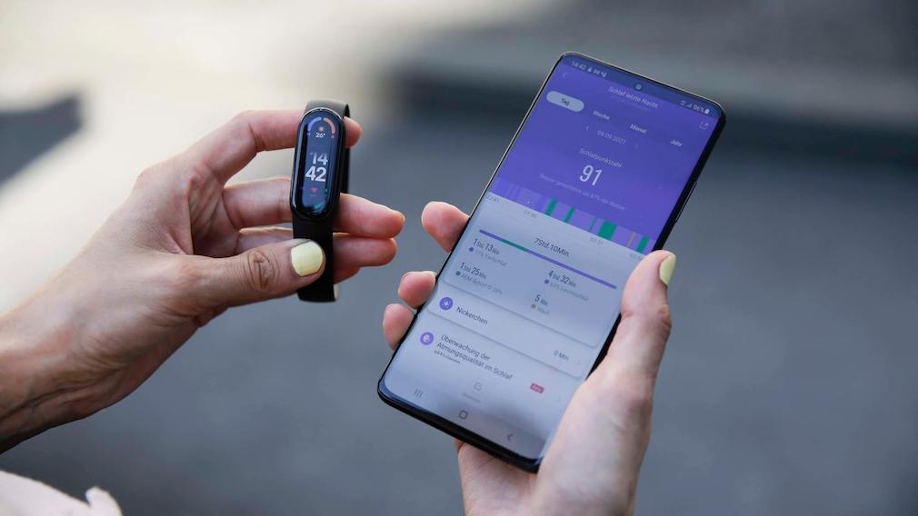Xiaomi Mi Band 6 und Mi-Fit-App