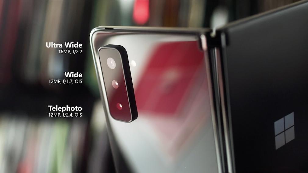 Surface Duo 2: Kameras