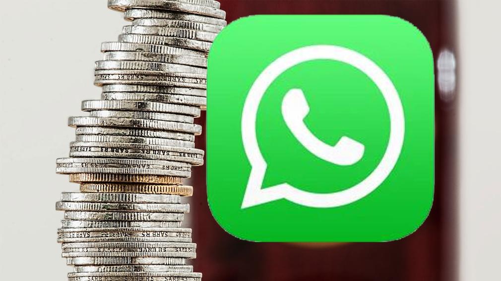 Cashback-Funktion bei WhatsApp