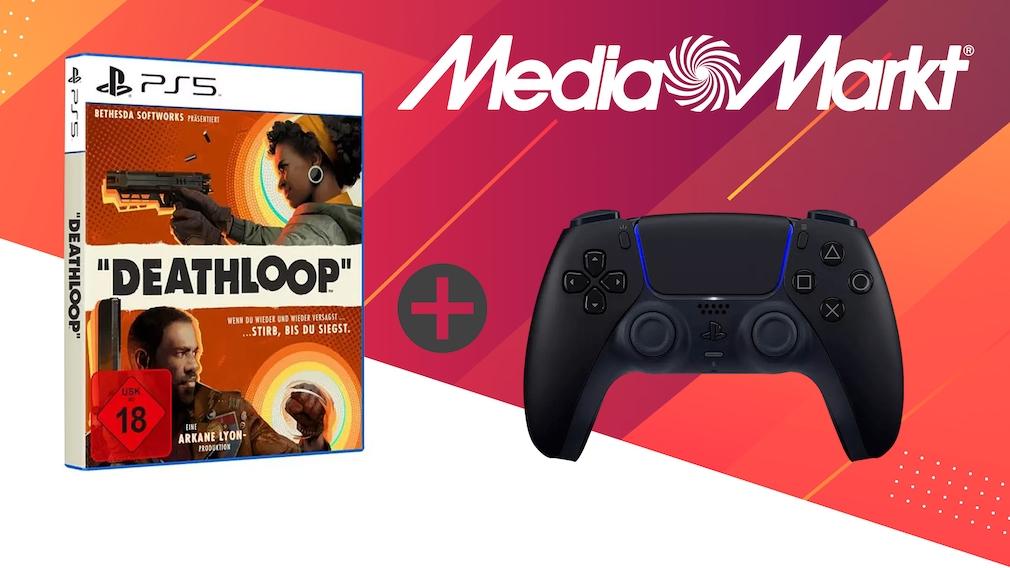 Media-Markt-Angebot: Deathloop plus PS5-Controller im Bundle günstiger