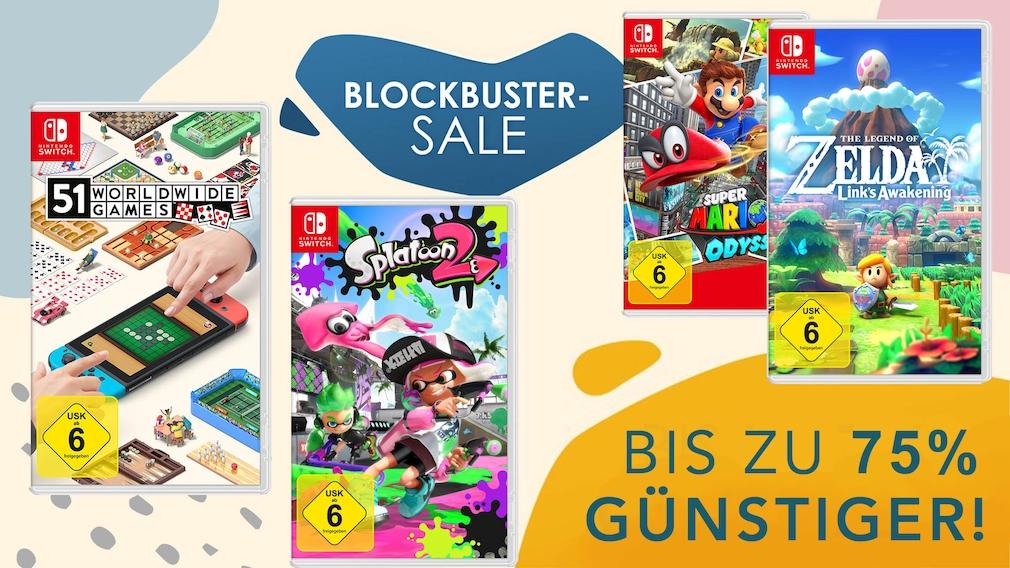 Nintendo eShop: Mehr als 300 Titel reduziert Nintendo eShop: bis zu 95 Prozent Rabatt auf mehr als 300 Titel.