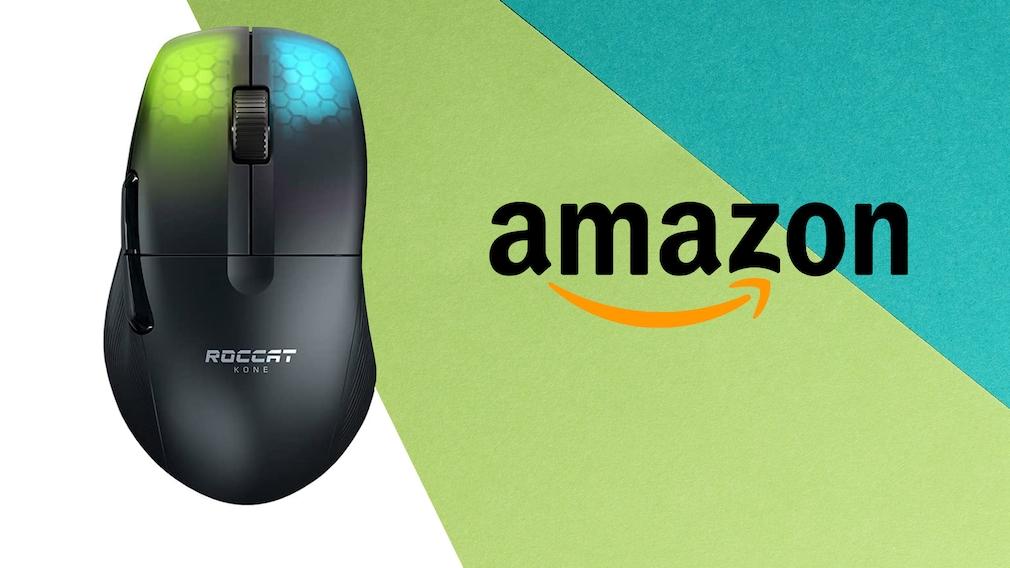 Amazon-Schnäppchen: Gaming-Maus von Roccat für unter 100 Euro Amazon-Angebot: Derzeit greifen Zocker die Gaming-Maus Roccat Kone Pro Air zum Tiefpreis ab.