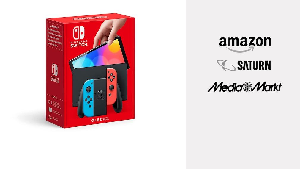 Nintendo Switch OLED: Konsole jetzt bei Amazon, Media Markt und Saturn