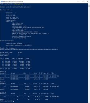DiskSpd Storage Performance Tool