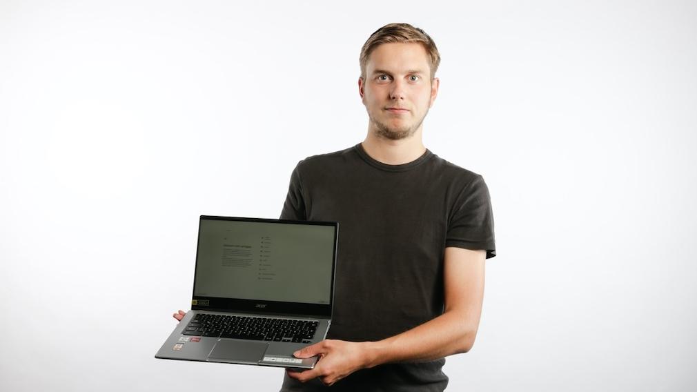 Das Acer Chromebook Spin 514