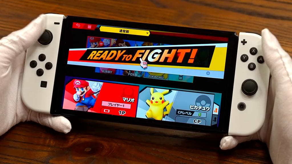 Nintendo Switch OLED: Japaner zeigt erstes Unboxing