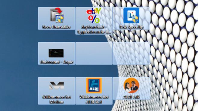 Ausgewählte Dateien per unsichtbarem Symbol ausblenden ©COMPUTER BILD