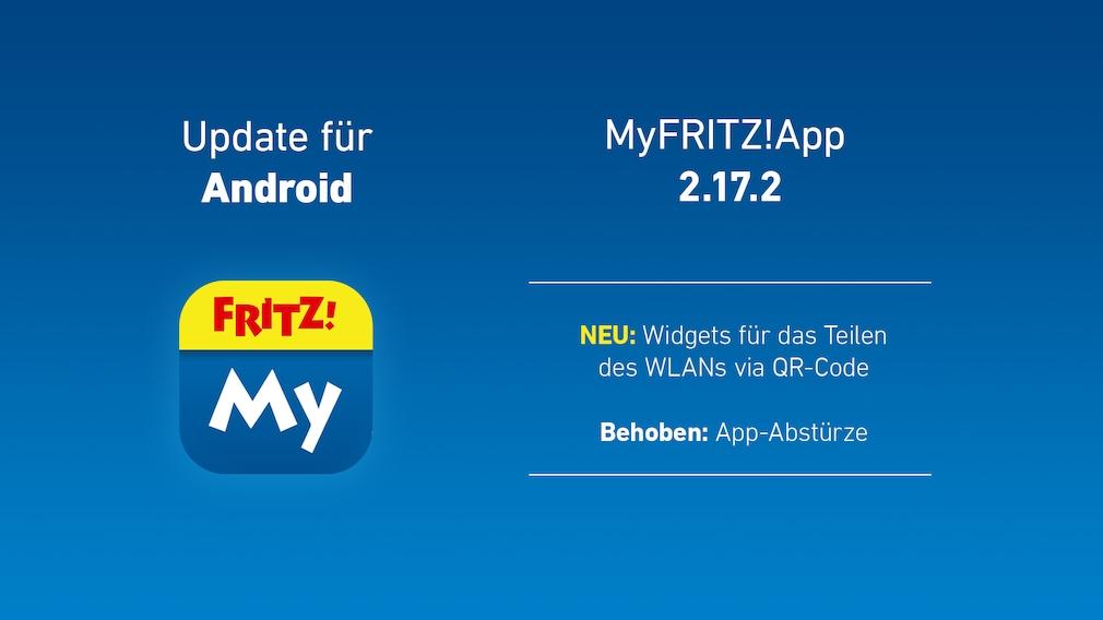 AVM MyFritzApp: Update für Android