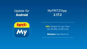 AVM MyFritzApp: Update für Android©AVM