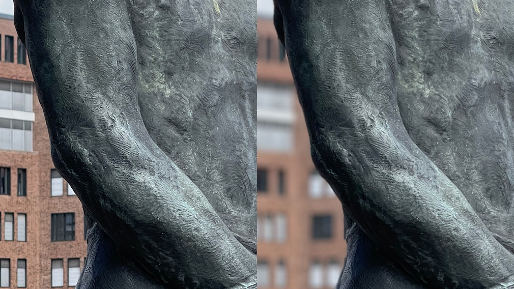 Porträt-Foto Vergleich Test Kamera gegen Smartphone