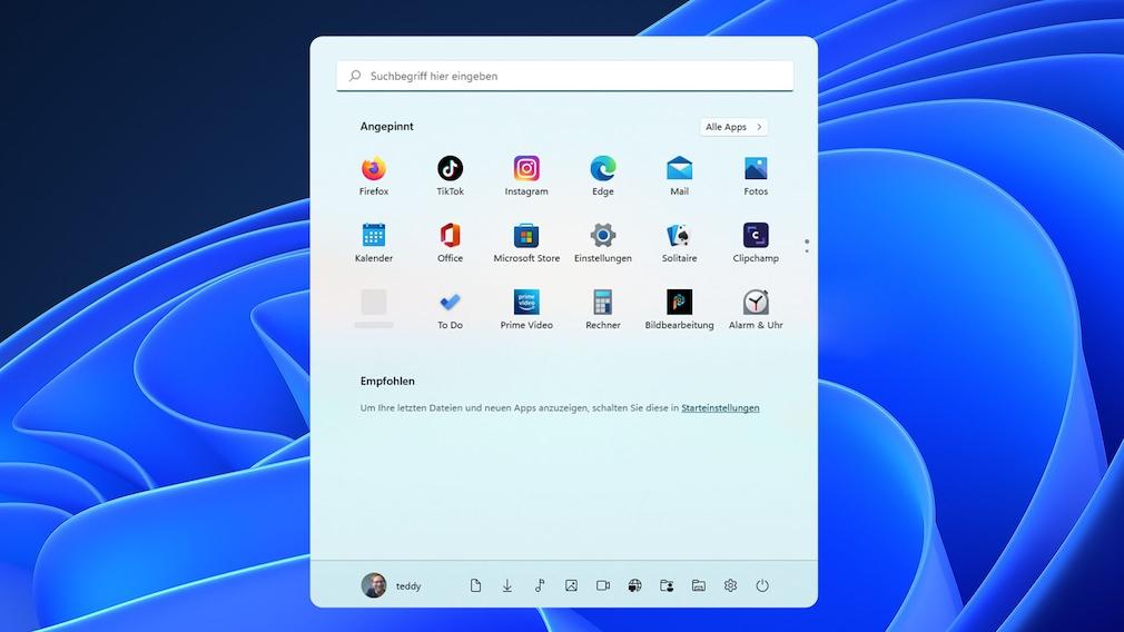Windows 11: Startmenü anpassen mit den besten Tipps und Tools Schön sieht es aus, das neue Windows-11-Startmenü. So machen Sie es noch besser.