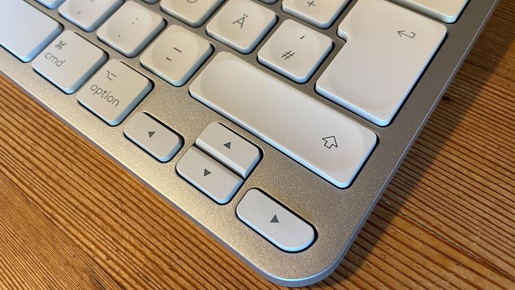 Pfeiltasten der Logitech MX Keys Mini