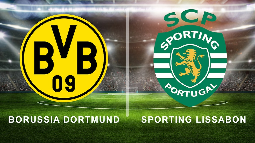 Borussia Dortmund gegen Sporting Lissabon