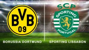 Borussia Dortmund gegen Sporting Lissabon©iStock.com/FotografieLink, Borussia Dortmund, Sporting Lissabon