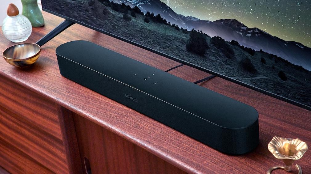 Die Sonos Beam 2 gibt es auch in Schwarz.