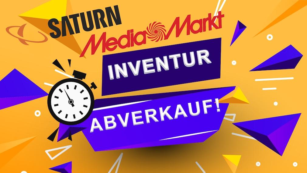Inventur bei Saturn und Media Markt: Über 1000 Produkte reduziert