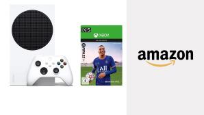 Mega-Deal bei Amazon: Xbox Series S mit neuem FIFA 22 jetzt 11 Prozent günstiger!©Amazon, Microsoft, EA