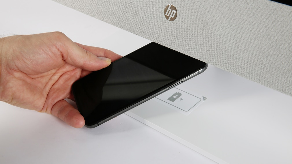 HP Pavilion 27-d1002ng Drahtlos Smartphone laden