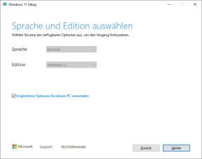 Media Creation Tool für Windows 11