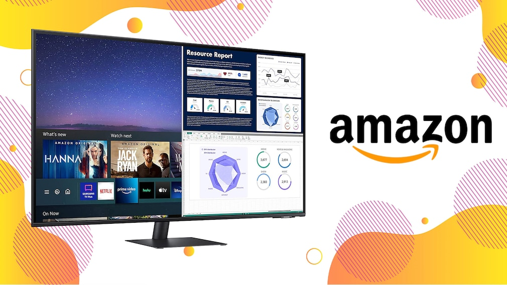 Cleverer Smart Monitor von Samsung für rund 530 Euro bei Amazon
