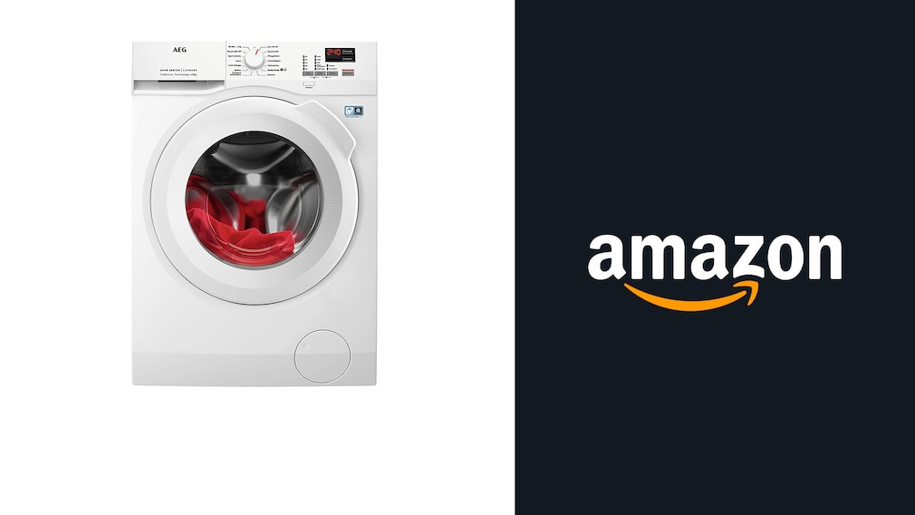 Starkes Angebot bei Amazon: AEG-Waschmaschine jetzt 100 Euro günstiger!