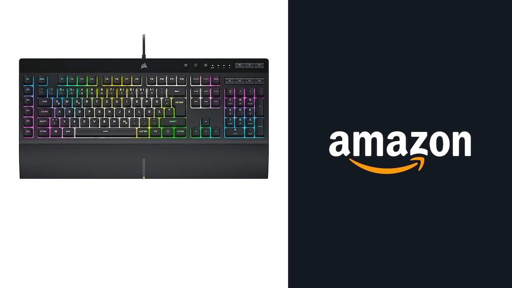 Amazon-Angebot: Gaming-Tastatur von Corsair 17 Prozent gesenkt