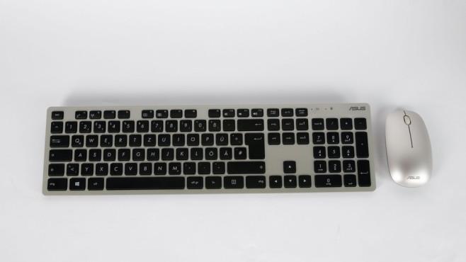 Tastatur und Maus des Asus Zen AiO F5401©COMPUTER BILD
