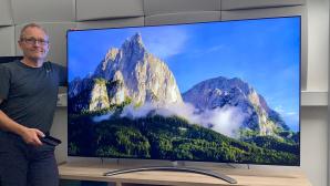 LG 75QNED999PB im Test: Ein Riesen-Fernseher mit tollen Farben.©COMPUTER BILD