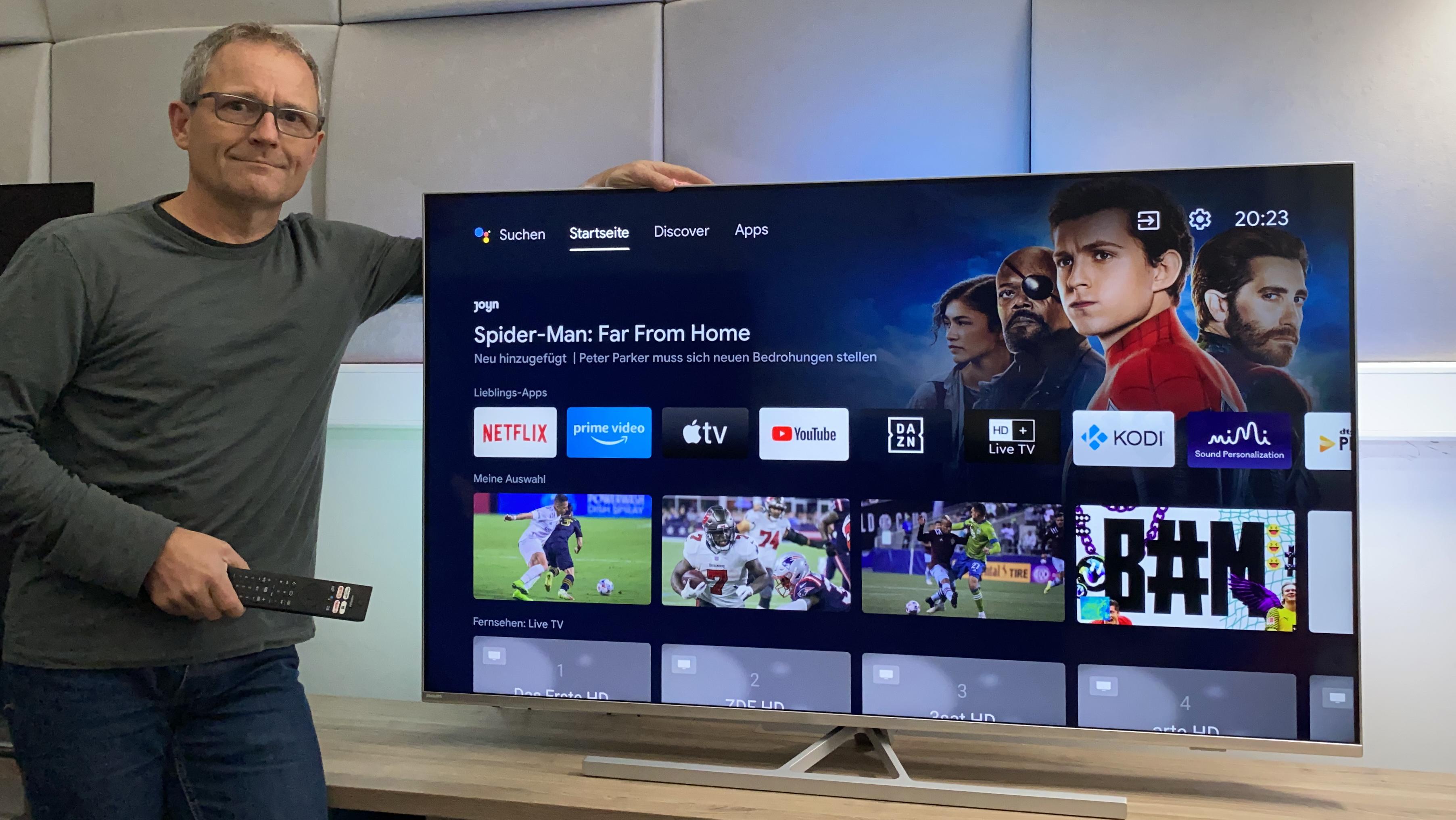 Philips PUS8506 im Test: Der schönste Fernseher für unter 1.000 Euro