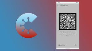 Corona-Warn-App: QR-Code-Scanner©RKI