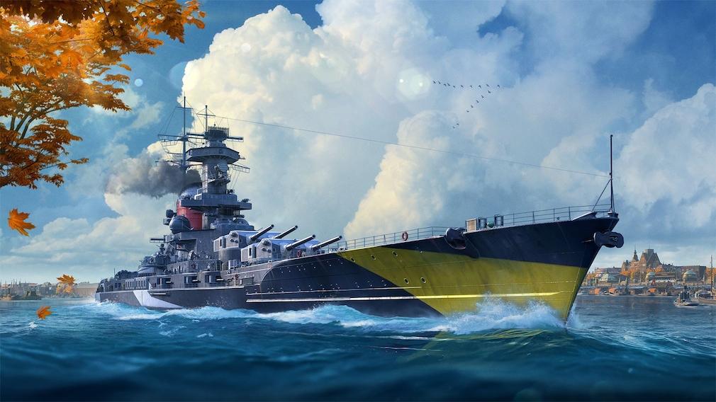 World of Warships deutsche schiffe Prinz Heinrich