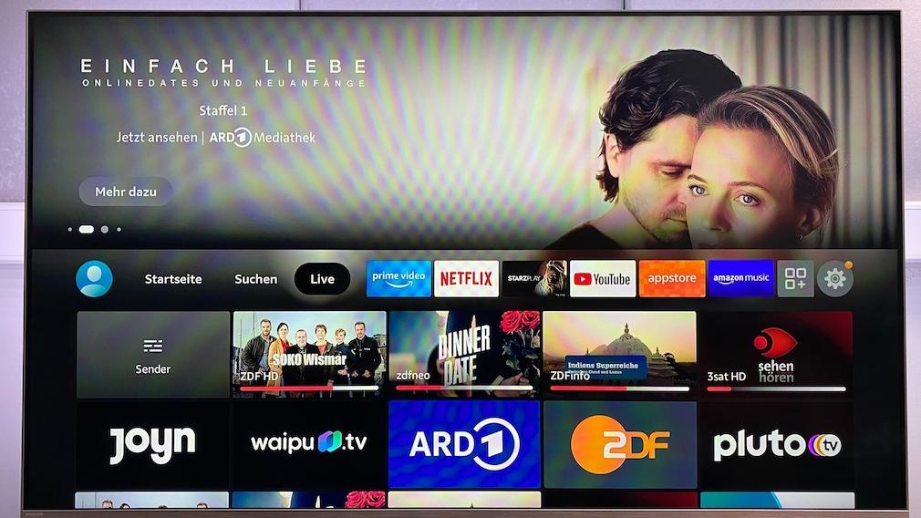 Mit dem Fire TV Max klappt nicht nur der Zugang zu Amazon Prime, Netflix & Co., sondern auch Streaming von Live-TV.