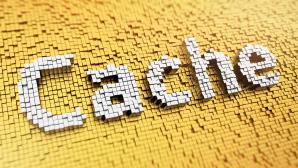 """Das Wort """"Cache"""" ist hervorgehoben dargestellt©iStock.com/TimArbaev"""