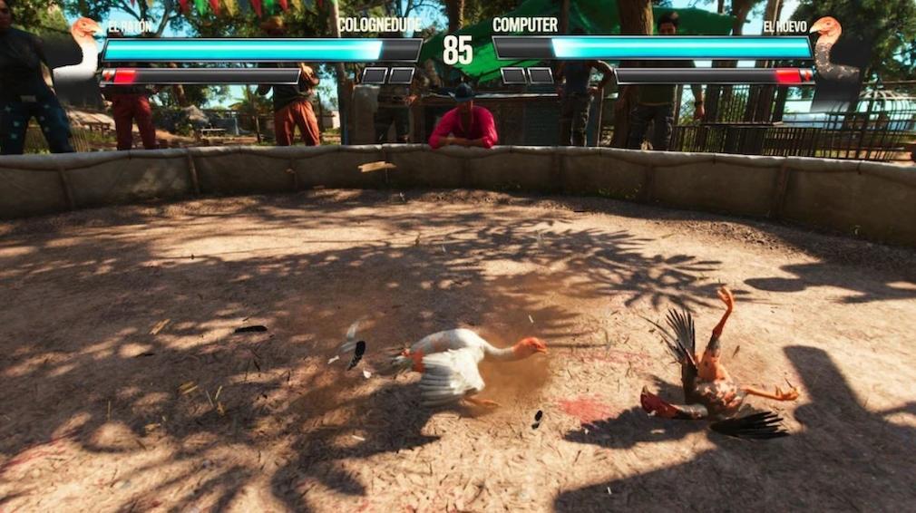 Far Cry 6 Hahnenkampf