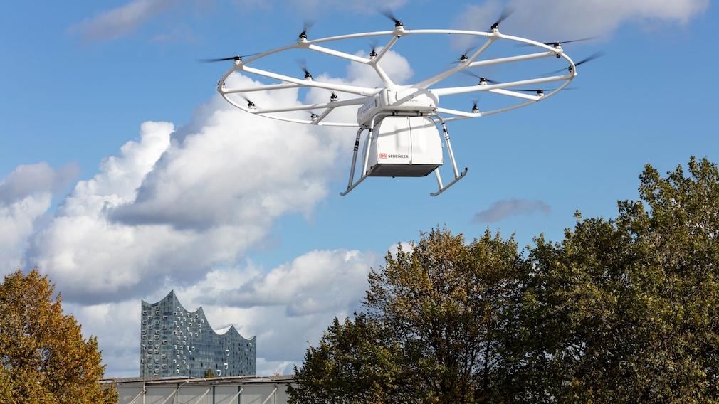 Volodrone von Volocopter