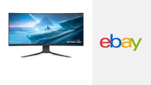 Ebay-Hammer: 37-Zoll-Gaming-Monitor von Dell satte 350 Euro günstiger©Ebay, Dell, Alienware