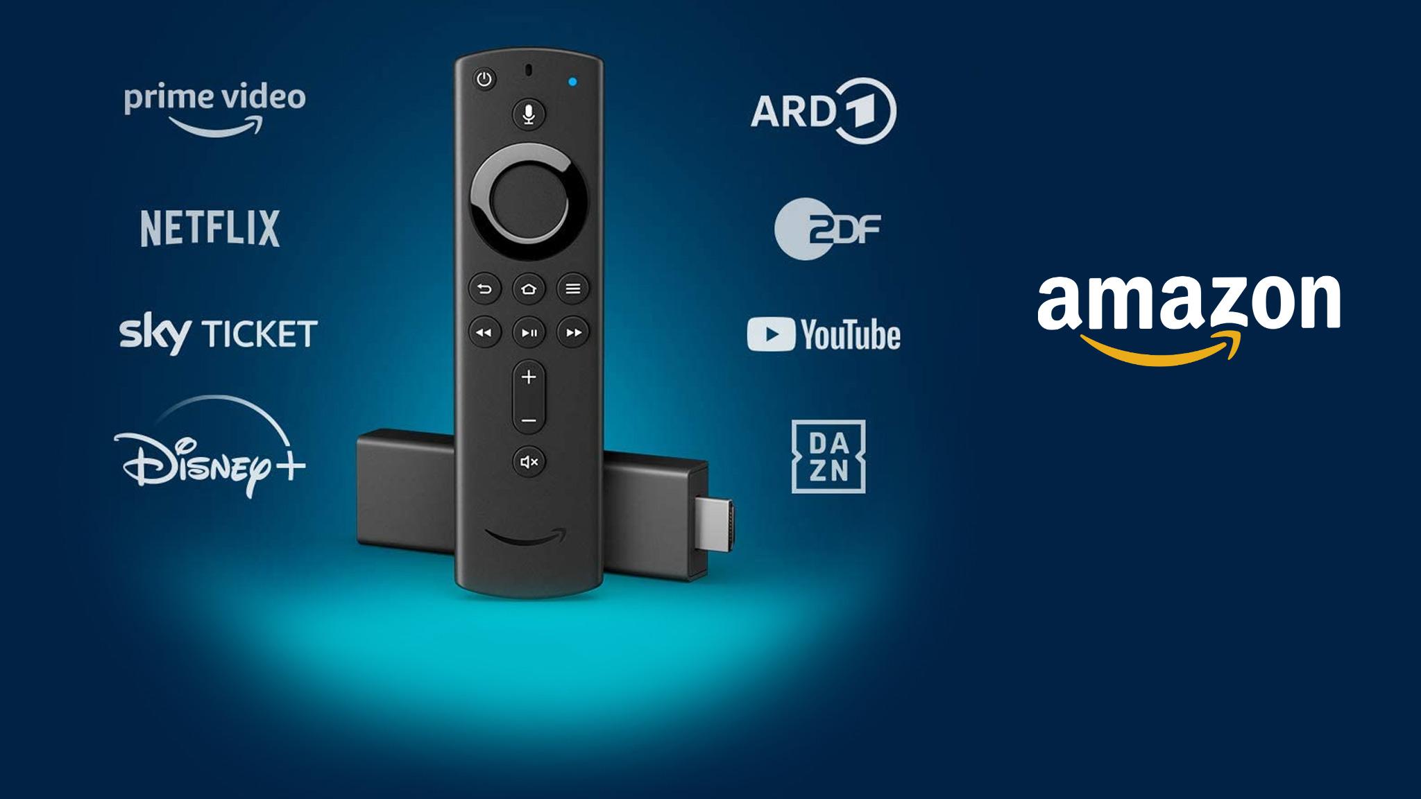 Hochauflösendes Angebot bei Amazon: Fire TV Stick 4K jetzt 25 Euro reduziert!