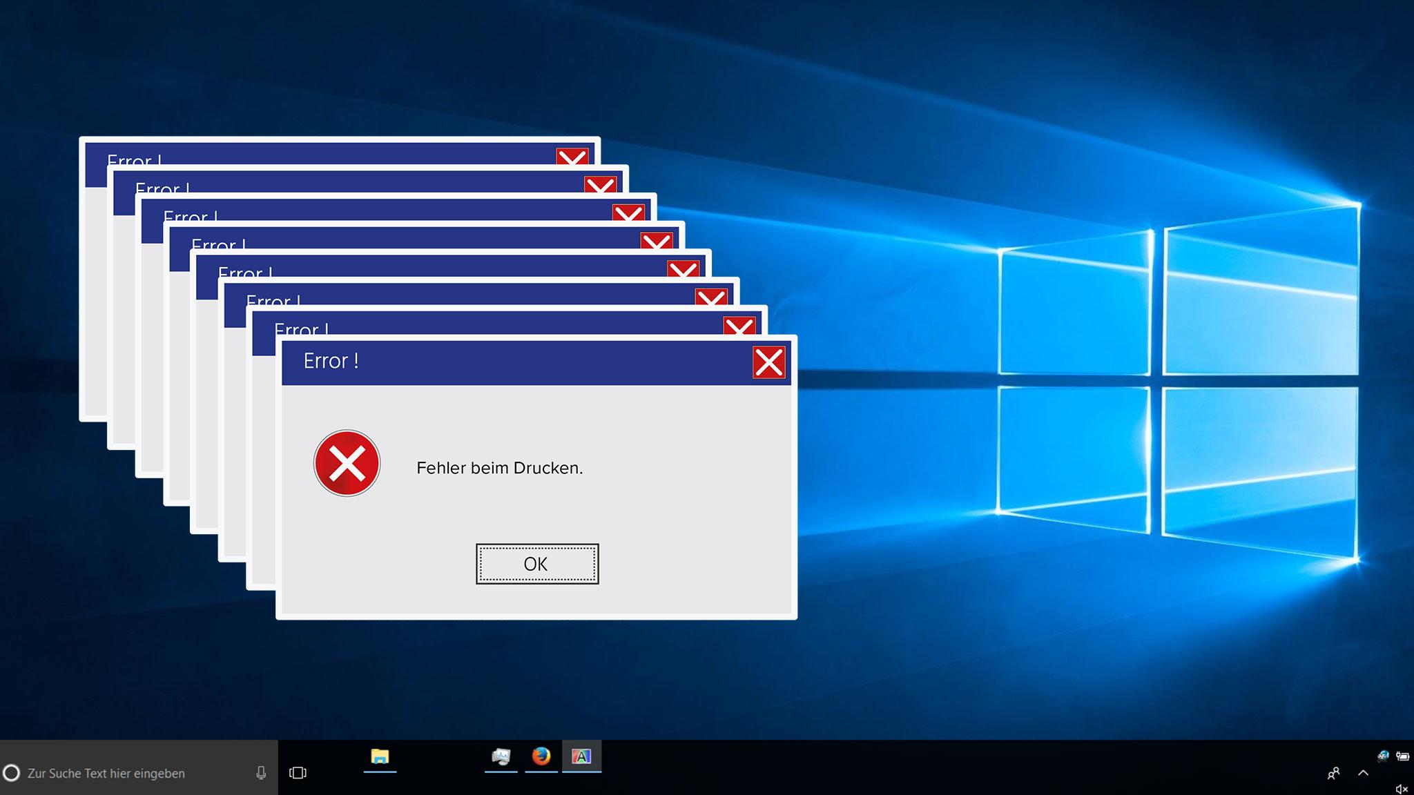 Windows 10: Schon wieder Druckerprobleme!