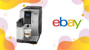 De'Longhi Kaffeevollautomat jetzt auf Ebay vom Hersteller kaufen©De'Longhi, Ebay, iStock.com/AjwadCreative