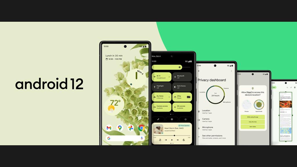 Android 12: Google startet Auslieferung an Pixel-Smartphones