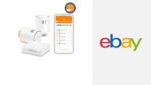 Zwei smarte Thermostate: Einsteiger-Set von Netatmo im Ebay-Angebot sichern©Ebay, Netatmo