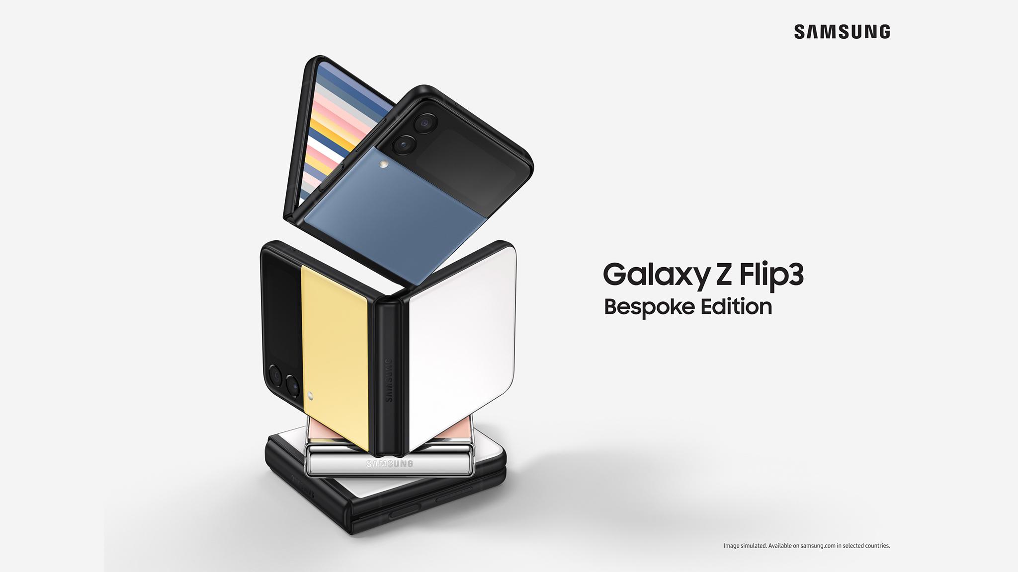 Samsung Galaxy Z Flip 3: Bespoke-Edition kommt nach Deutschland