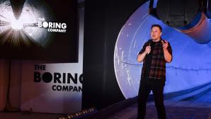 Elon Musks präsentiert Tunnel-System©ROBYN BECK / Getty Images