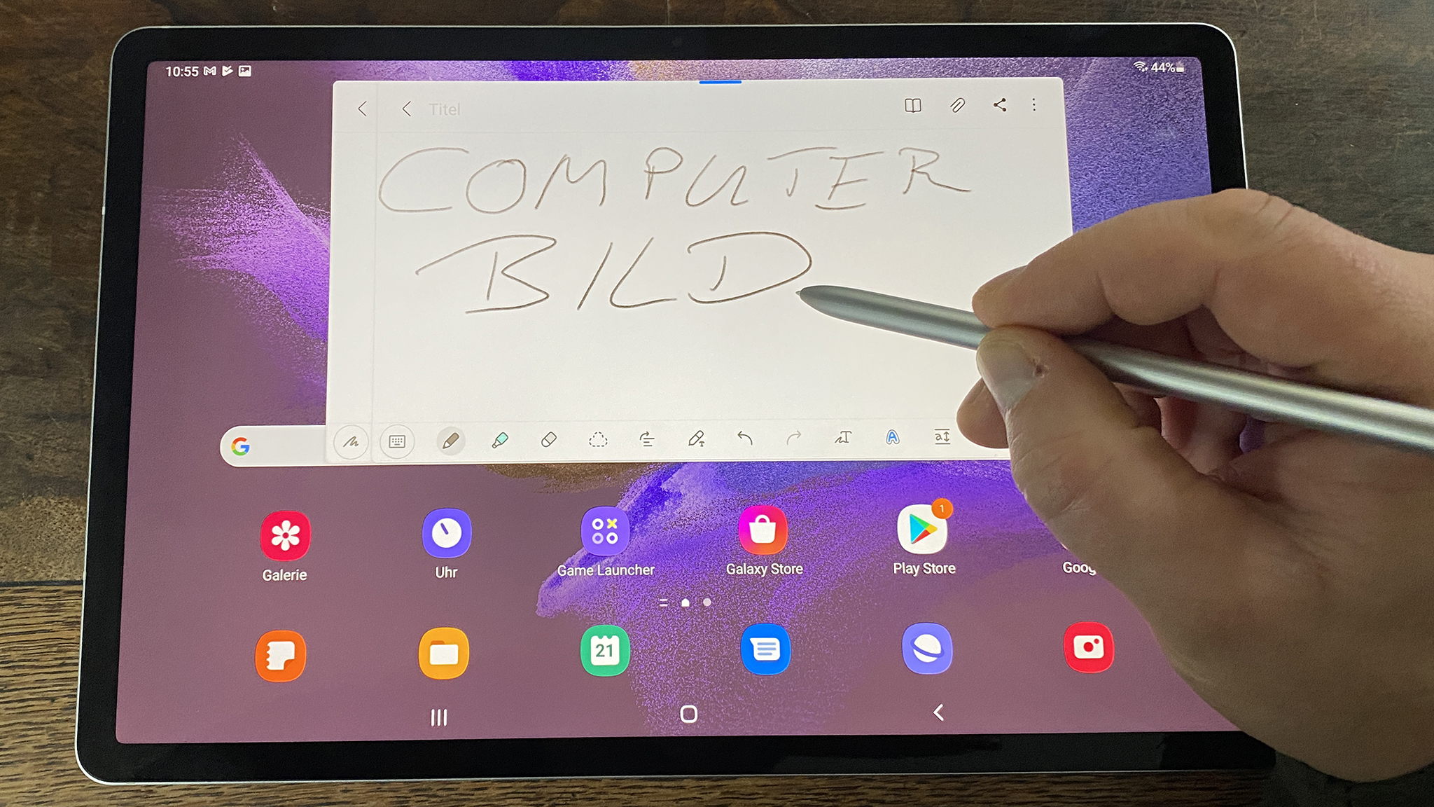 Samsung Galaxy Tab S7 FE Wifi im Test: Günstige WLAN-Version