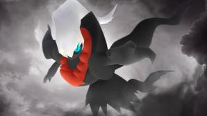 Das Monster Darkrai vor bedrohlicher Wolkenkulisse.©Niantic / The Pok�mon Company
