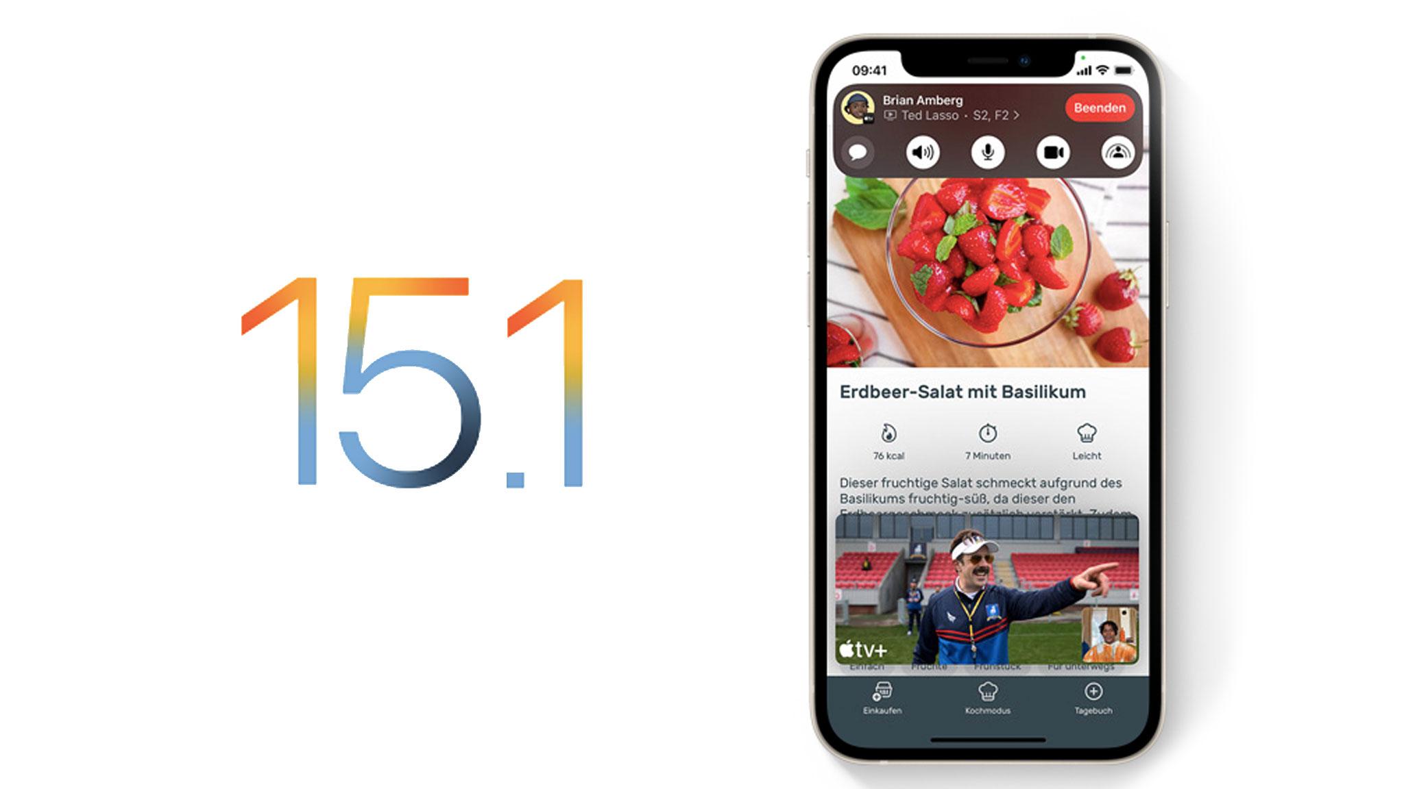 iOS 15.1: Diese neuen Funktionen bringt das Update!