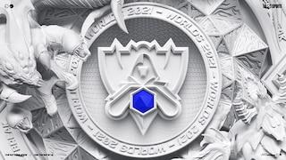 Das Logo der League of Legends Worlds 2021.