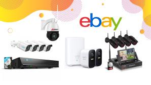 Sicher durch den Winter: Überwachungskameras bei Ebay im Angebot©Ebay, iStock.com/AjwadCreative